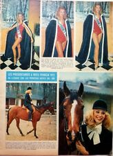 Concours MISS FRANCE 1972 => COUPURE DE PRESSE ESPAGNOLE 1 page  / CLIPPING