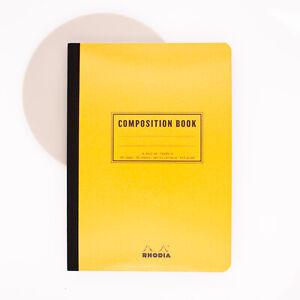 Rhodia Composition Book A5 Stripe Orange