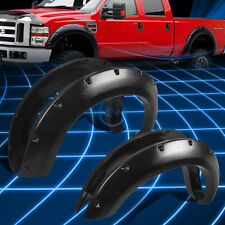 """3"""" Matte Black Thermo ABS Wheel Fender Flares for 2011-2016 F250 F350 Super Duty"""