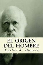 El Origen Del Hombre by Carlos R. Darwin (2016, Paperback)