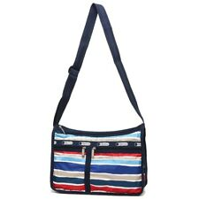 LeSportsac 7507 DeLuxe Everyday Bag Sailor Stripe NWT