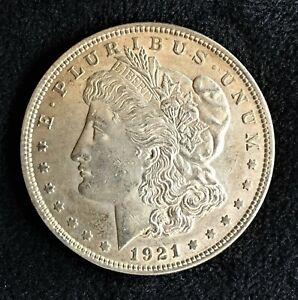 1921-P Morgan Silver Dollar Unc