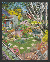 Australia 2019 : Stamp Collecting Month, In the Garden, Large Minisheet, MNH