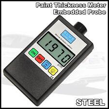 Digital Car Paint Thickness Coating Gauge Meter Tester STEEL Built probe EU Prod