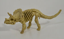 "5.25"" Dino Bone Fossil Triceratops Jurassic Dinosaur Skeleton Action Figure"