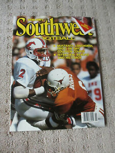 Athlon Sports 1985 Southwest Conference College Football Edition *