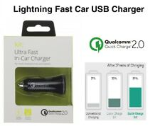 Qualcomm 2.0 Adaptive Fast USB Car Charger for Android Samsung Sony Moto LG HTC