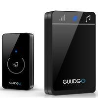 Guudgo GD-MD01 Wireless Touch Screen Music Doorbell Portable Waterproof Doorbell