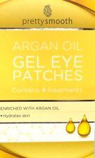 PRETTY SMOOTH ARGAN OIL GEL EYE PATCHES 4 TREATMENTS
