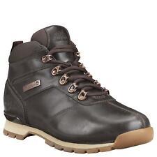Timberland Mens Splitrock Mid Hiker Dark Brown Boots