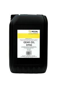 GEAR OIL EP90 GL4 25 LITRE(API: GL3/GL4, MIL-L-2105, ZF TE-ML.02)