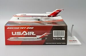 US Airways B727-200 Reg: N762AL JC Wings Scale 1:200 Diecast model XX2389