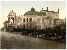 Ukraine, Odessa. Le théâtre. PZ vintage photochromie, photochromie, vintage ph