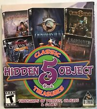 Hidden Object Classic Treasures 5 Pack PC Games - Physical Box - Free Shipping