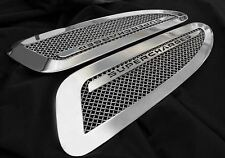 Jaguar XJR Supercharged Mesh Hood Louver Grilles Bright Stainless or Black