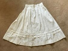 Antique Edwardian Skirt ~ Fine Cond. ~ Pin Tucking ~ Full Gathers in Back. Nice