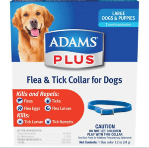 ADAMS PLUS FLEA & TICK COLLAR FOR DOGS & PUPPIES