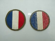 ANCIEN ECUSSON INSIGNE BADGE PATCH POLICE MILITARY FRENCH