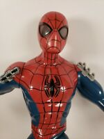 "A15 Marvel SPIDERMAN 14"" Hasbro Light Up Eyes Web Sounds 2012 Tested Works"