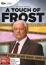 A Touch of Frost Complete Seasons Series 1-15 DVD Box Set R4 NEW SEALED