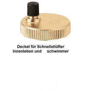 Schwimmer mit Deckel für Vaillant Schnellentlüfter der Pumpe 061707 für VC-VCW