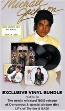 MICHAEL JACKSON  4lp, 3 Album, Vinyl Bundle Including:180g. Picture Discs + MORE