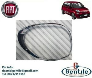 FIAT 500L CORNICE CROMATA ORIGINALE PER FANALE STOP POSTERIORE SINISTRO DA 2012