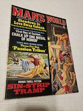 Man's World Magazine, 1967 August, Nazi, torture, GGA, pulp, men's adventure