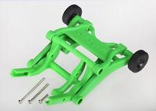 Traxxas Wheelie bar montiert (grün) für Slash, Stampede, Rustler, Bandit - 3678A