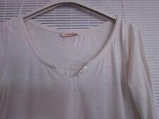 Beau tee shirt CAMAIEU,blanc,taille 2