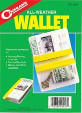 ALL WEATHER WALLET=WATER PROOF PROTEC!TION FOR ALL YOUR LICENSES, PERMITS MONEY