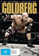 The WWE - Goldberg - Ultimate Collection (DVD, 2013, 3-Disc Set) - Region 4