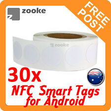 30x NFC NTAG203 Smart Tag Sticker for Samsung, Nexus, Sony - Android Devices