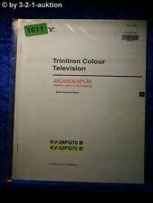 Sony Bedienungsanleitung KV 28FQ75B / 32FQ75B Color TV (#1611)