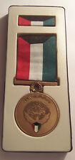 Kuwait Liberation Medal Presentation Set in Case