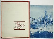1960's Vintage Menu Lot Stouffer's TOP OF THE SIXS Restaurant Manhattan New York