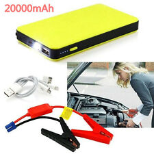 20000mAh 12V Auto Car Jump Starter Power Bank Emergency Battery Booster Charger