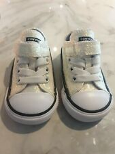 INFANT GLITTER CONVERSE SIZE 3 UK