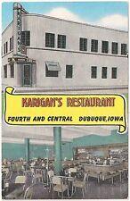 Karigan's Restaurant in Dubuque IA Postcard