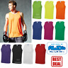 AWDis MEN'S COOL VEST TANK TOP SPORT WICKABLE BREATHABLE TRAINING SUN PROTECTION