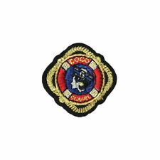 Marine Sailor Lifebuoy Ring (Iron On) Embroidery Applique Patch Sew Iron Badge