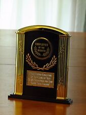 "Employee/Appreciation 7"" Acrylic Award Trophy FREE custom engraving"