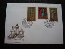 LIECHTENSTEIN - enveloppe 1er jour 4/12/1989 (B15)
