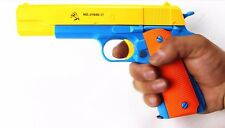 Toy Gun Pistol NERF-Brand New Realistic 1:1 Scale Colt 1911 Rubber Bullet Pistol