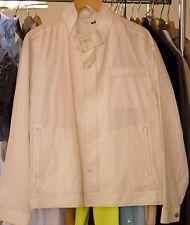 NWT KITON avi rossini cream light spring jacket 52 42 LARGE