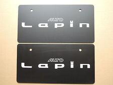 JDM SUZUKI ALTO LAPIN Original Dealer Showroom Display License Plates Pair