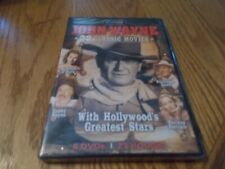 JOHN WAYNE - 22 CLASSIC MOVIES WITH HOLLYWOOD'S GREATEST STARS 6-DVDS BRAND NEW