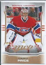 Carey Price  14/15 UD MVP  #247  Base Card SP