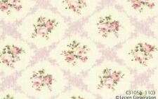 Cottage Shabby Chic Lecien Rococo Sweet Rose Lattice Fabric 31055L-110 BTY