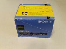 Sony Mavipak VFD-50 Still Video Floppy Discs box of 10 factory sealed
